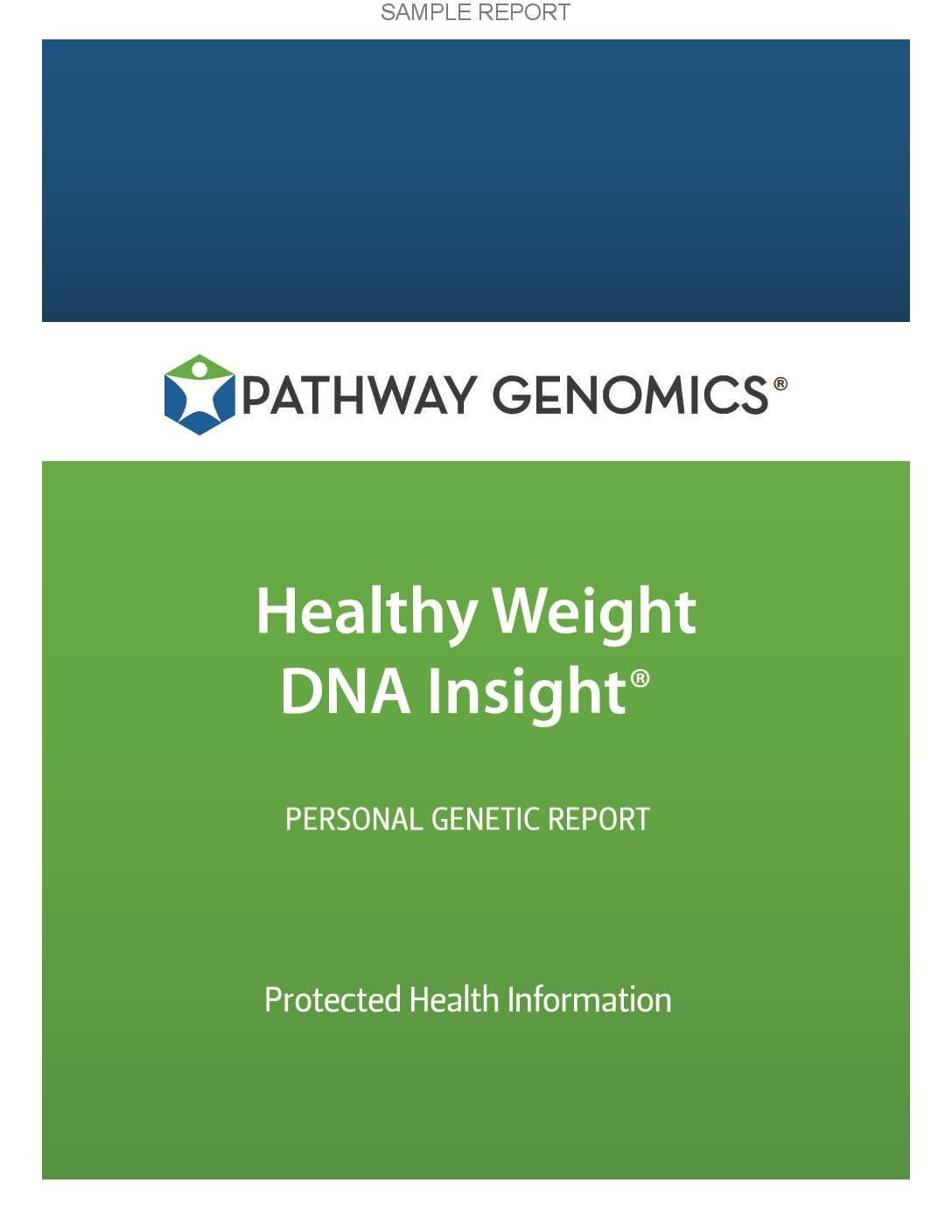Healthy Weight DNA Insight Report (Male Report)