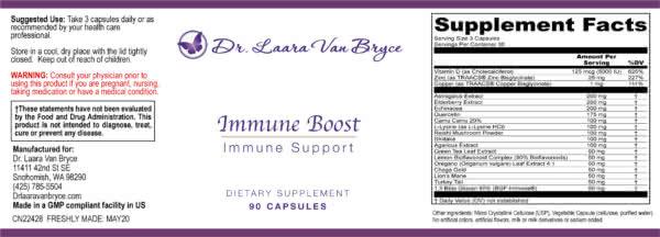 Immune Boost, Immune Support
